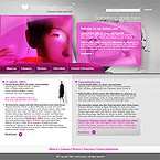webdesign : fashion, site, audition
