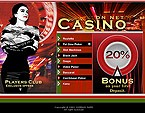 webdesign : online, baccarat, blackjack