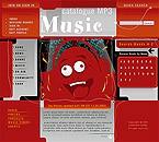 webdesign : video, music, charts