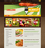 webdesign : cookbook, drink, dish