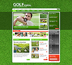 webdesign : golf, entertainment, strategy