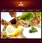 webdesign : menu, taste, special