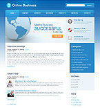 Blue World Wordpress business Theme