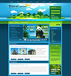 webdesign : tour, country, guide