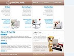 webdesign : tables, chairs, armchairs