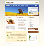 webdesign : agriculture, grain-crops, innovations