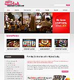 webdesign : entertainment, players, baccarat