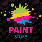 webdesign : store, brushes, paint