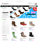 webdesign : products, accessories, dress