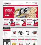 webdesign : profile, motor, clamps