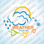 webdesign : weather, frost, snow