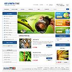 webdesign : photos, cart, categories