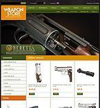 webdesign : Taser, Winchester, Browning