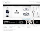 webdesign : jewels, silver, store