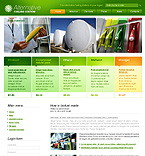 webdesign : gas, green, biodiesel