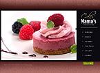 webdesign : celebration, cookies, tarts