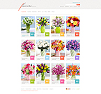 webdesign : lilies, packing, catalog