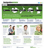 webdesign : immigration, consultation, permission