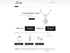 webdesign : jewelry, shop, ring