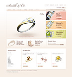 webdesign : store, jewels, store
