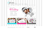 webdesign : candle, flowers, fashion