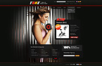 webdesign : fitness, collection, ple