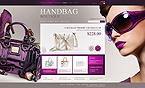 webdesign : handbag, boutique, store