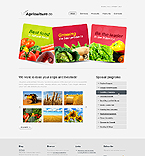 webdesign : harvest, farming, tea