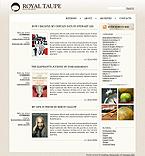 webdesign : weblog, biographies, visitors