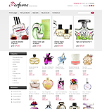 webdesign : cosmetic, women, natural