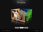 webdesign : photocube, photography, gallery