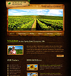 webdesign : farming, market, resource