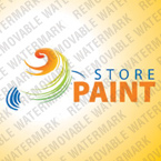 webdesign : painting, brushes, interior