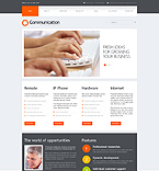 webdesign : communication, contact, transfer