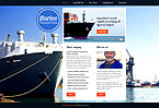 webdesign : sea, port, shipping