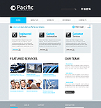 webdesign : pacific, team, services