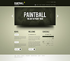 webdesign : paintball, club, equipment