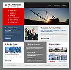 webdesign : company, buildings, services