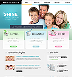 webdesign : shine, teeth, bright