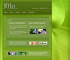 webdesign : events, plants, collection