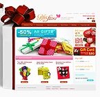 webdesign : store, clothes, collection