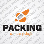 webdesign : packing, carton, storehouse