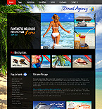 webdesign : tour, beach, rest