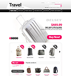 webdesign : store, suitcases, wallet