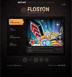 webdesign : floston, beats, disks