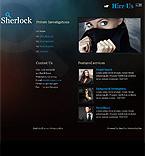 webdesign : investigation, truth, search