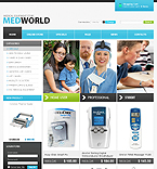 webdesign : medworld, store, pump