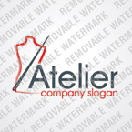 webdesign : atelier, seamstress, needle