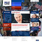 webdesign : national, senator, party