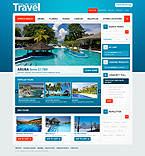 webdesign : tourist, reviews, food